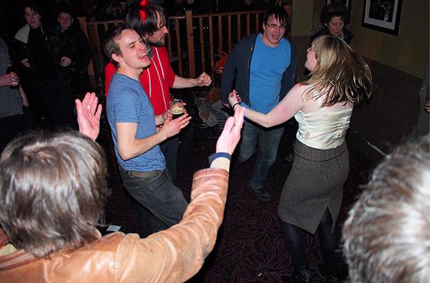 The Brixton Thatcher party - more photos
