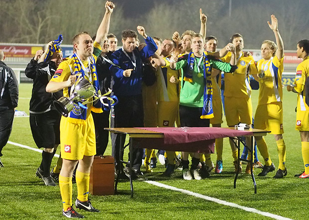Isthmian League Cup Final - Dulwich Hamlet 2 Concord Rangers 3 - photo report