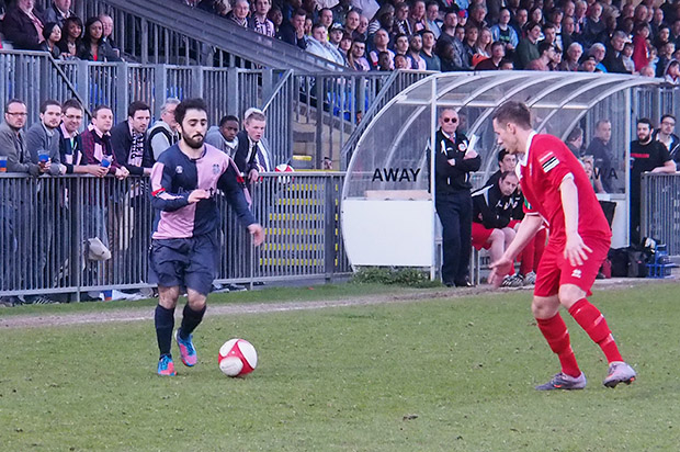 Promotion is a heartbeat away as Dulwich Hamlet beat Crawley Down Gatwick 3-1