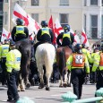 There was a massive police presence around the Brighton seafront yesterday in readiness for the 6th annual &#8216;March for England St Georges Day Parade.&#8217; March for England describes themselves as...