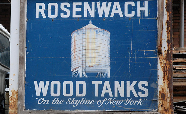 Rosenwach Wood Tanks - 'On the Skyline of New York'
