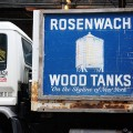 Rosenwach Wood Tanks - on the skyline of New York'
