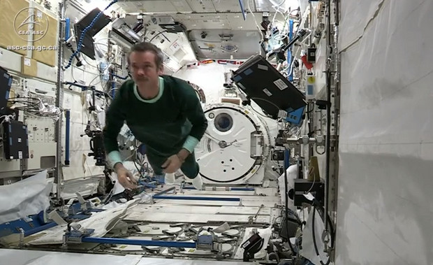 How astronauts sleep in space and a fascinating look around the International Space Station