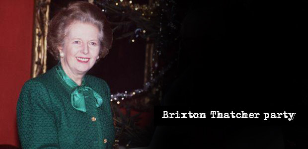 Over 600 people sign up for Thatcher party in Windrush Square, Brixton tonight