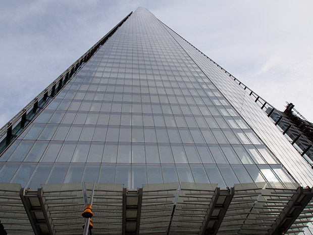 View from The Shard - a trip to the top of the tallest building in Europe