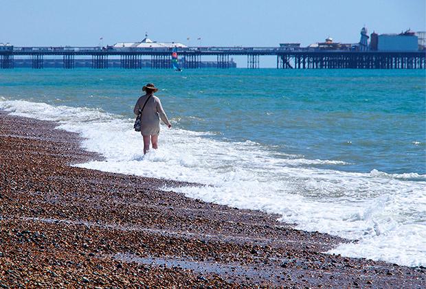 Brighton in the spring sunshine: twenty photos