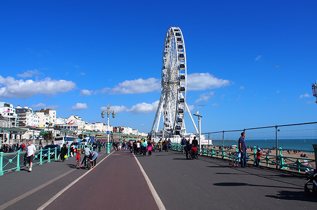 The Brighton Wheel, a Steve Coogan-powered, third-hand alternative to the West Pier