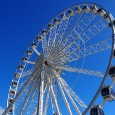 No city is a city without a huge ferris wheel these days, and since October 2011,  the Brighton Wheel has been spinning folks around on Madeira Drive, right on the Brighton seafront.