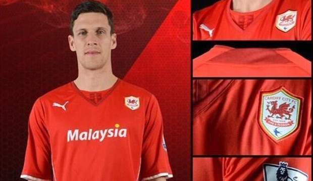 The embarrassment continues for Cardiff City as truly hideous strip is unveiled