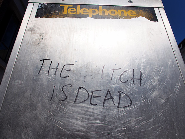 Photo of the day: The Itch Is Dead, Soho