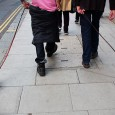 Seen strutting along St Giles High Street in central London yesterday were this pair of rather charming sausage dogs.