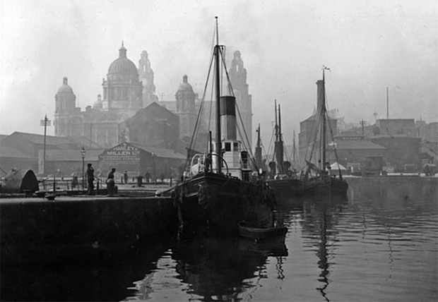 Liverpool docksview