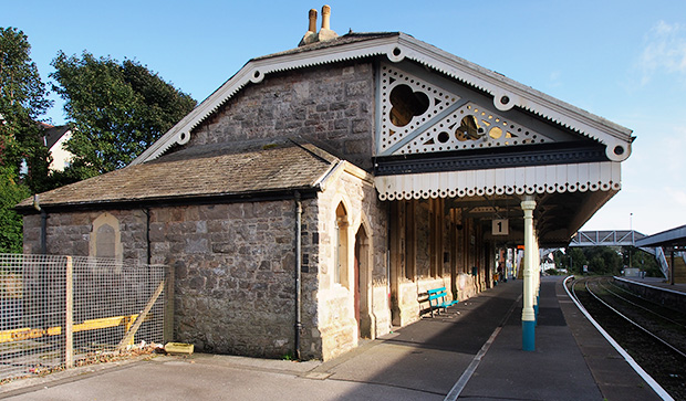 Tenby railway station retains its Victorian charm