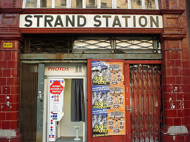 The abandoned Aldwych tube station in London - history and videos