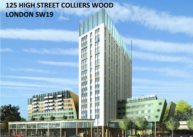 Work set to start on the hideous Colliers Wood Tower 'by the end of the year'