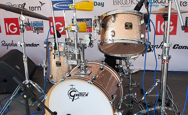 Small, portable drum kits. Gretsch Catalina Drum Kit with 18-inch bass drum review