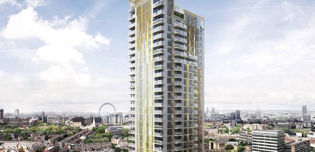 One The Elephant: 37 story private residential tower in Elephant and Castle
