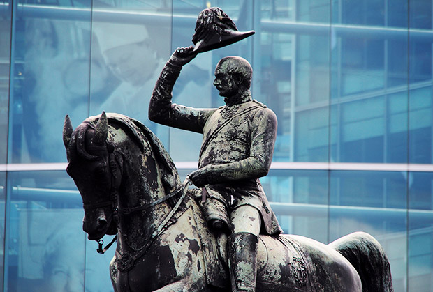 Say hello to Prince Albert at Holborn Circus, central London