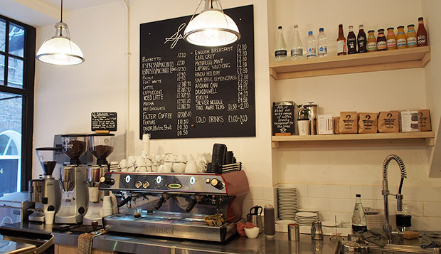Speakeasy Espresso and Brew Bar, Soho - loud and disappointing