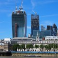 Walkie Talkie tower at 20 Fenchurch Street, City of London nears completion as work starts on Europe's highest roof garden