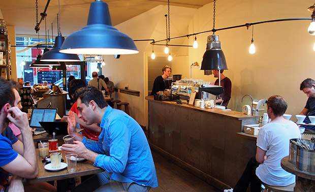 Tap at 193 Wardour Street W1 saves the day with a five star cup of coffee
