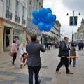 Cheltenham town centre, England: twenty photos