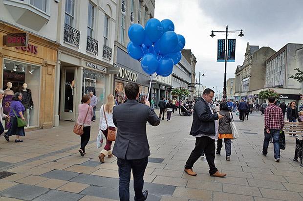 Cheltenham town centre, England: twenty photos