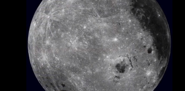 NASA releases stunning video footage of a rotating Moon
