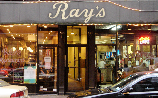 Ray's Pizza, New York, cash stuffed bras and the mob connection
