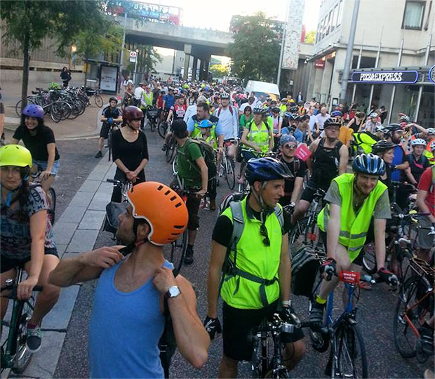 London Cycling Campaign's 'Space for Cycling' demo - photo report