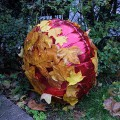 Found art: the fabulous leaf balloon of Regents Park, London
