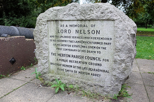 A visit to the Lord Nelson memorial in Merton, south London