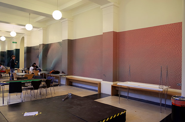 The somewhat disappointing large scale map of Mars at UCL, London
