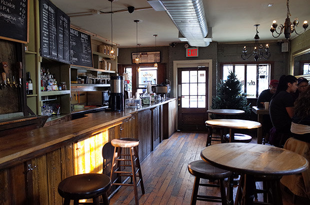 The West coffee shop and liquor bar, 379 Union Ave. Brooklyn, NY 11211