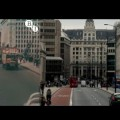 Wonderful colour film footage matches up London views from 1927 - 2013
