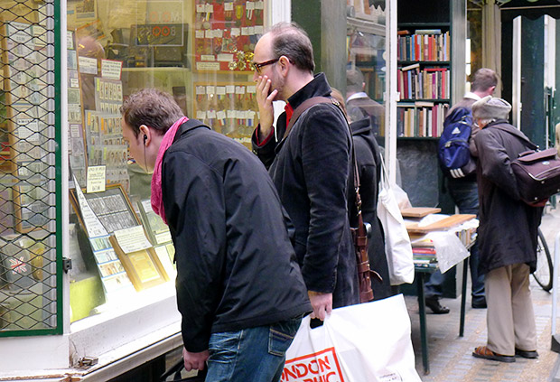 Booksellers Row at Cecil Court - a Victorian gem in central London