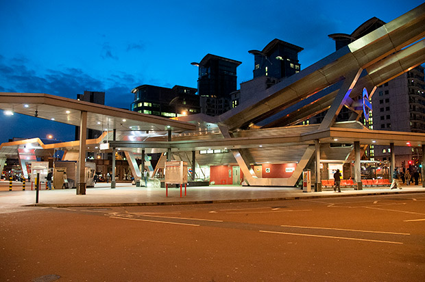 Vauxhall Bus Station threatened with demolition to make way for a 'riverside town'