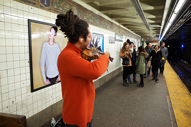 A wonderful First Avenue subway moment in New York