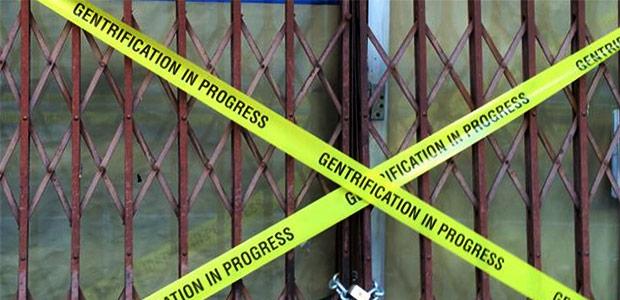 Gentrification in progress - Bleeker Street in NYC gets subverted