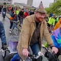 Critical Mass celebrates its 20th anniversary with a huge central London ride