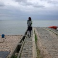 Beach scenes and harbour views of Whitstable, Kent