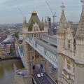 London from the air - stunning drone video footage