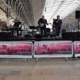 As part of First Great Western's 'Summer Tracks' promotion, passengers at London's Paddington Station were treated to a full on set from seasoned sessioneers the All Stars Collective.