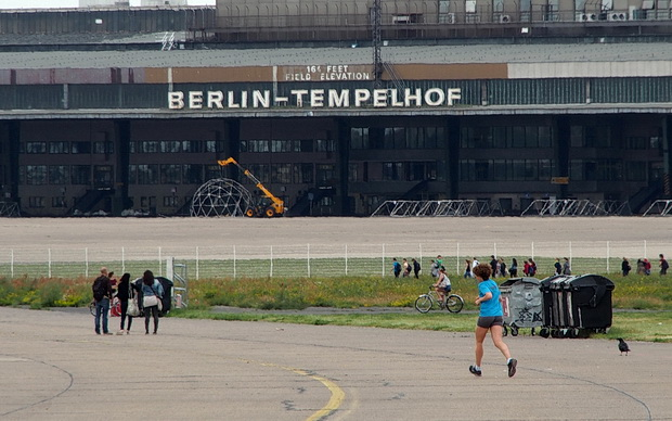 Berlin Tempelhof Airport - an abandoned international airline in the centre of Berlin