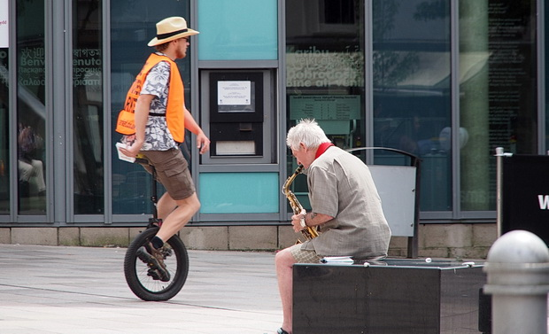 Cardiff street photos - 25 views of the capital of Wales, June 2014