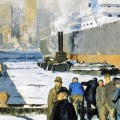 A visit to the National Gallery and a first look at George Bellows 'Men Of The Docks'