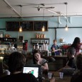 Located in the rapidly gentrifying area aroundBogart Street situated between Williamsburg and Bushwick, Swallow Cafe is a great place to grab a coffee and a bite to eat.
