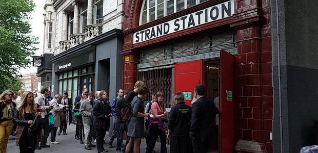Take a photo tour of the abandoned Strand Aldwych tube station in central London