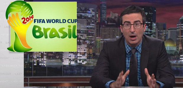 FIFA and the World Cup is torn to shreds by John Oliver on American TB