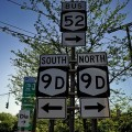 Photos of the day: road signs, Beacon, New York